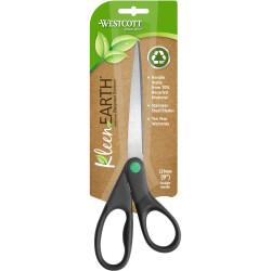 Westcott KleenEarth Scissors Straight Handle 229mm Black
