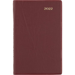 Collins Belmont Pocket Diary Day To Page B7R Burgundy