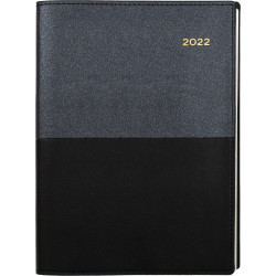 Collins Vanessa Diary 2 Days To A Page A5 Black