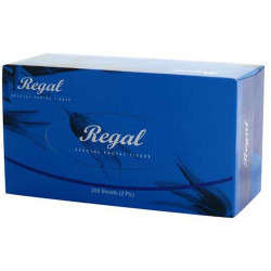 Regal Facial Tissues 2 Ply 200 Sheets