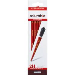 Columbia Copperplate Pencil Hexagon 2H Pack of 20