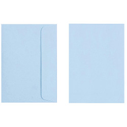 Quill Envelope C6 80gsm Powder Blue Pack of 25