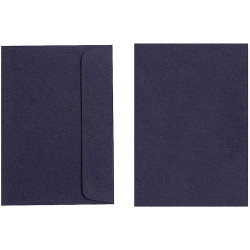 Quill Envelope C6 80gsm Black Pack of 25