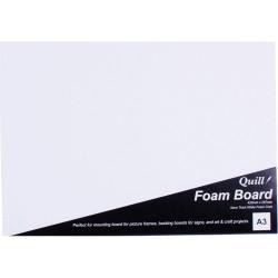 Quill Foam Board A3 White