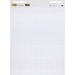 Post It 560 Easel Pad 635mm x 775mm White Blue Grid Pack of 2