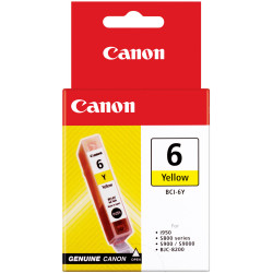 Canon BCI6Y Ink Cartridge Yellow
