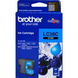 Brother LC38C Ink Cartridge Cyan