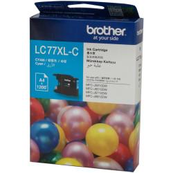 Brother LC77XLC Ink Cartridge High Yield Cyan