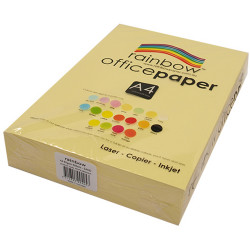 Rainbow Office Copy Paper A4 80gsm Sand Ream of 500