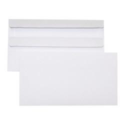 Cumberland Envelope 90x165mm Self Seal Plain White Box Of 500
