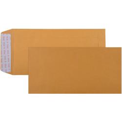 Cumberland Envelope Pocket DL Strip Seal Plain Gold Box Of 500