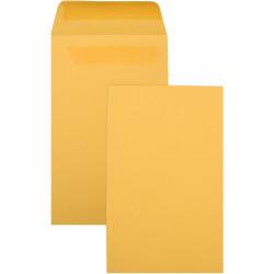 Cumberland Envelope Pocket P6 135x80mm Self Seal Gold Box Of 1000