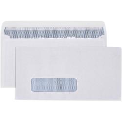 Cumberland Envelope Laser DL Strip Seal Window Face Secretive White Box Of 500