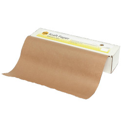Marbig Enviro Kraft Paper Roll Recycled 65gsm 500Mm X 70M In Dispenser