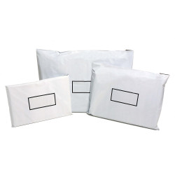 Cumberland CBA4 Courier Bags 225x335 mm Self Adhesive Flap White Pack Of 50
