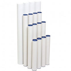 Marbig Mailing Tube 60mm x 420mm Pack Of 4