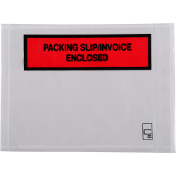 Cumberland OL200PS Packaging Envelope 155x115mm Packing Slip/Invoice Enclosed Box 1000