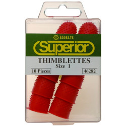 Esselte Superior Thimblettes SIZE 1 - Box of 10