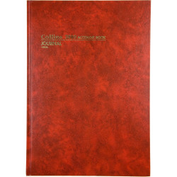 COLLINS ACCOUNT 3880 SERIES A4 Journal Red