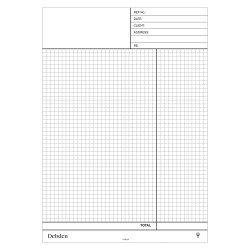 Debden Contractor Plus Refill A4 Quotation NCR Pad Pack of 2