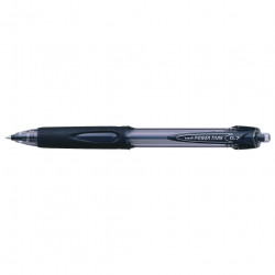 Uni SN227 Powertank Ballpoint Pen Retractable Fine 0.7mm Black