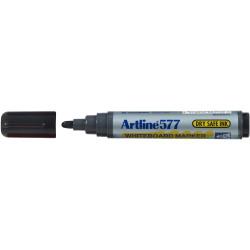 Artline 577 Whiteboard Marker Bullet 3mm Black