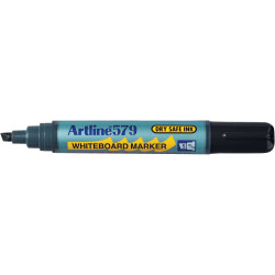 Artline 579 Whiteboard Marker Chisel 2-5mm Black