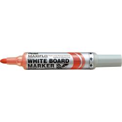 PENTEL Whiteboard Marker Maxiflo MWL5 Bullet Red