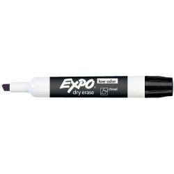 Expo Dry Erase Whiteboard Marker Chisel Black