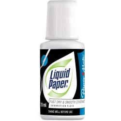 Liquid Paper Correction Fluid 20ml Bond White