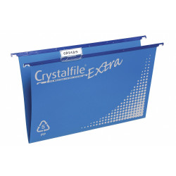 Crystalfile Suspension Files Polypropylene Heavy Duty Blue Box Of 20