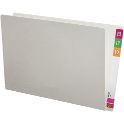 Avery Lateral File Foolscap Extra Heavy Weight White Box of 100