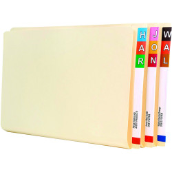 Avery Lateral File Foolscap Extra Heavy Weight Buff Box of 100