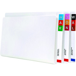 Avery Lateral File Foolscap With Spiral Spring Fastener White Box of 50
