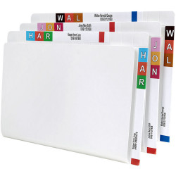 Avery Shelf Lateral File Foolscap With Twin Tab White Box of 100