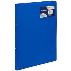 Marbig Professional Flexi Binder Soft Cover 2 Ring 20mm Royal Blue