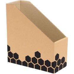 Marbig Enviro Magazine Box 254x104x280mm Woodgrain