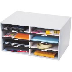 Marbig Sort 'N' Stor Organiser 517 x310x280mm 8 Compartment Grey
