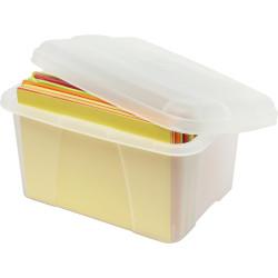 Crystalfile Mini Porta Box 20L Clear
