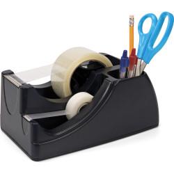 Marbig Professional Series Dual Heavy Duty Tape Dispenser Black