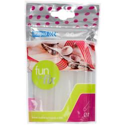 RAPID POINT CORDLESS GLUE GUN Transparent Glue Sticks 7mm Pack of 20
