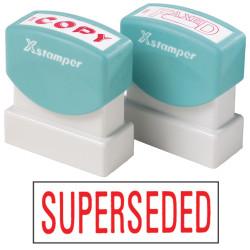 XStamper Stamp CX-BN 1366 Superseded Red