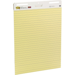 Post-It 561 Easel Pad Self Stick 635x775mm Lined Yellow