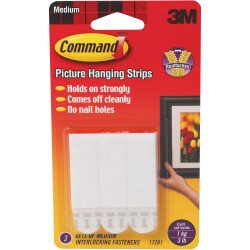 COMMAND PICTURE HANGING STRIPS 17202 Small White