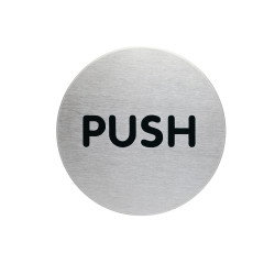 DURABLE PICTOGRAM SIGN Push 65mm