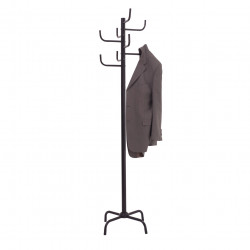Jastek Coat Rack 8 Hook Black