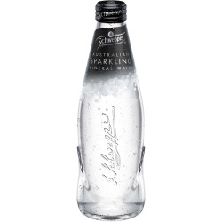 Schweppes Sparkling Mineral Water 300ml Pack of 12