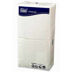 COST SAVER LUNCH SERVIETTES 1 Ply 320x315mm White Pack of 250