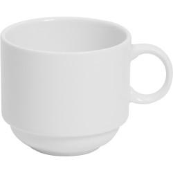 Connoisseur A-La-Carte Stackable Cups White 225ml Set of 6