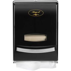 Regal Slim Hand Towel Dispenser Black